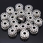 10/20/30X Metal Stainless Sewing Machine Bobbins Brother Toyota Janome Singer