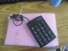 Targus Model: PAUK10U Item No.: 50 USB Keypad Tested Good  >