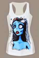 Polyester Regular Size Gothic Tops & Shirts for Women