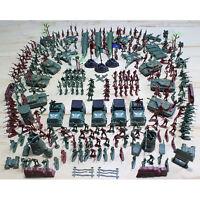 307x/set Soldier Kit Grenade Tank Aircraft Rocket Army Men Sand Scene Model FO