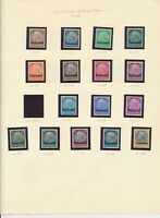 GERMAN OCCUPATION STAMPS (1940) OF ALSACE AND LORRAINE • 38 MOSTLY MINT STAMPS