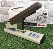 Boston Heavy Duty Vintage Stapler Robust Boxed