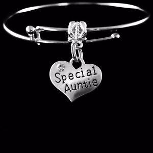 special auntie bangle Special auntie bracelet  best aunt jewelry Auntie present