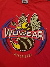 RARE WU WEAR 95 Shaolin WU TANG CLAN Killa Beez XL Shirt RZA GZA ODB Rap Hiphop