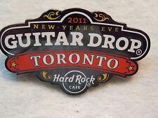 Hard Rock Cafe Toronto Guitar Drop '11 Pin
