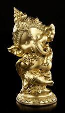 Ganesha Figura Bailando - COLOR DORADO - INDIO divinidad felicidad