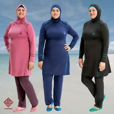 AlHamra AL8232 Full Cover Modest Burkini Swimwear Swimsuit  4 piece UK 20-26