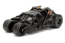 JADA 1/24 SCALE 2008 THE DARK KNIGHT BATMAN TUMBLER BATMOBILE DIECAST CAR BLACK