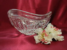 Mikasa Nut Candy Dish Small Bowl Crystal Triangular Ribbed Glass