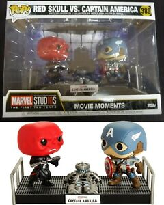 Marvel - Pop! - Red Skull vs Captain America (The First Avenger) n°389 BOITE ABI