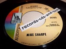 MIKE SHARPE-SPOOKY/WITH A LITTLE HELP FROM MY FRIENDS-LIBERTY 56103 VG+ 45