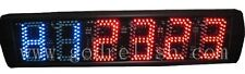 """tabata 5"""" led fitness crossfit interval timer clountdown wall clock stopwatch"""
