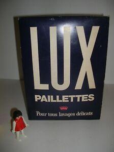 LUX PAILLETTES ancien PAQUET DE LESSIVE vintage non ouvert, collection, déco