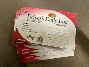 Drivers Daily Log Triplicate Copy (6 Books)
