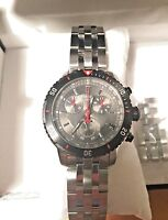 Men's Tissot PRS-200 Black Dial Stainless Steel Watch T067417A 2