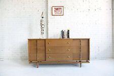 Mid century modern 9 drawer dresser by Kent Coffey