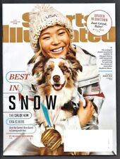 2018 CHLOE KIM US OLYMPIC SNOWBOARD GOLD MEDAL-Jon Gruden Sports Illustrated