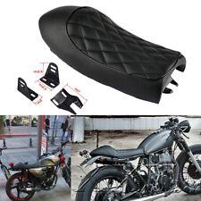 Motorcycle Hump Cafe Vintage Seat Flat Saddle For Honda Suzuki Yamaha Cafe Racer
