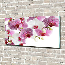 Acrylglas-Bild Wandbilder Druck 140x70 Deko Blumen & Pflanzen Orchidee
