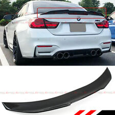 FOR 2014-19 BMW F33 F83 M4 CONVERTIBLE CARBON FIBER TRUNK SPOILER WING PSM STYLE