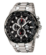 Casio Edifice EF-539D-1A Men's Chronograph Stainless Steel Band Analog Watch