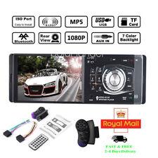 4''1 Din Car Radio Bluetooth FM/AUX/USB MP5 Player Wheel Control Stereo +Camera