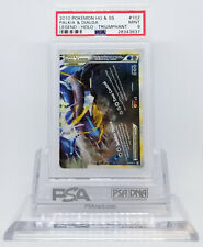 POKEMON TRIUMPHANT PALKIA & DIALGA LEGEND BOTTOM #102 HOLO PSA 9 MINT #28343637
