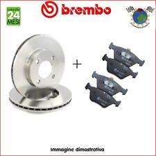Kit Dischi e Pastiglie freno post Brembo FIAT PUNTO PANDA 500 LANCIA YPSILON #bj