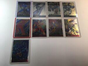 1995 FLEER MARVEL METAL SERIES 1 SINGLE CARD PICKS. METAL & GOLD BLASTER!