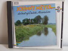 CD ALBUM JOHNNY MEYER De best of dutch accordion CDP 74 6895 2