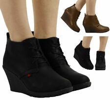 Mid Heel (1.5-3 in.) Wedge Ankle Boots for Women