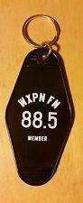 WXPN 88.5 PHILADELPHIA PUBLIC RADIO STATION MEMBER KEY CHAIN RING RETRO MOTEL
