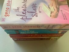Lot of 4 Gena Showalter The Pleasure Shave Catch a Male Animal Instincts +