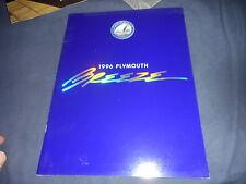1996 Plymouth Breeze Color Brochure Catalog Prospekt