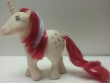 My Little Pony White Unicorn Moondancer Pony G1 Hasbro Vintage 1983