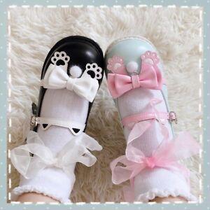 Cat Paw Ribbon Platform Shoes Kawaii Lolita Buckle Harajuku Mary Janes Shoes