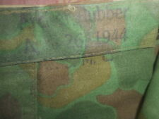 U.S.ARMY:1944 WWII U.S.MARINES,PONCHO,CAMOUFLAGE SHELTER,OR TENT* 1944 WWII.
