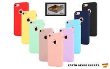 Funda carcasa case apple  silicona  color IPHONE 6/6s 7 / 8 se2020 X/XR XS