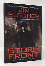 JIM BUTCHER Storm Front 1st/1st HB/DJ Dresden Files #1