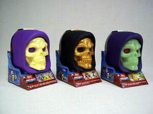 Mega Construx Masters of the Universe Skeletor Skull He-Man Fisto Trap Jaw Lot
