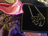Disney Couture Jewellery Lion King Necklace Simba gold