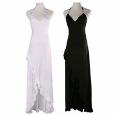 Prom Solid Dresses Backless
