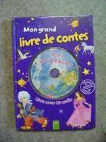Livre Mon grand livre de contes+  avec 1 CD audio /R25