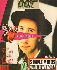 MAGAZINE OOR 1987 nr. 10 - MONTY PYTHON / SIMPLE MINDS / GARY MOORE/VIKTOR LAZLO