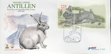 ANTILLEN 1999  FDC 302A YEAR OF THE RABBIT