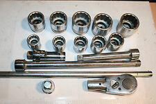 "SNAP-ON TOOLS 3/4"" DRIVE 12-POINT GENERAL SERVICE SET 16PC"
