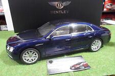 BENTLEY FLYING SPUR W12 bleu peacock au 1/18 de KYOSHO 08891PC voiture miniature