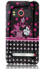 Disney Pop Dots Minnie Mouse Droid HTC Evo 4G Phone Case/Cover & Screen Guard