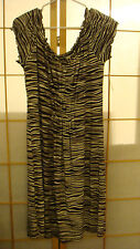 BRAND NEW Michael Kors Brown/Cream Ladies Womens Size M Sleeveless Dress w/Tags