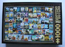 Vintage Travel Posters - D-Toys 1000 Piece Jigsaw Puzzle